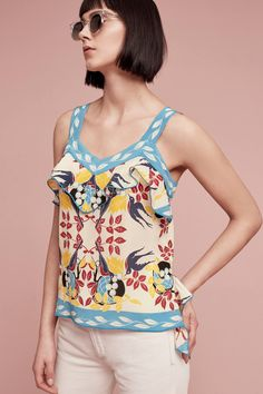 Slide View: 1: Silk Fables Cami