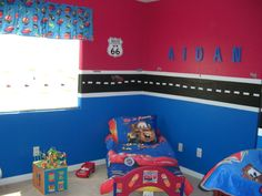 Boy Room, Aidan Cars Room, Boys car room , Boys Rooms Design