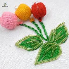 Hand embroidery leaf stitch design Knitting PatternsKnitting For KidsCrochet PatternsCrochet Amigurumi Diy Embroidery Patterns, Basic Embroidery Stitches, Hand Embroidery Videos, Hand Embroidery Flowers, Hand Embroidery Tutorial, Flower Embroidery Designs, Creative Embroidery, Simple Embroidery, Learn Embroidery