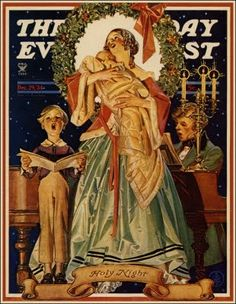 The Saturday Evening Post (December 29, 1934) by J.C. Leyendecker