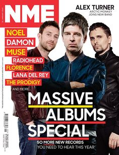 Get your digital subscription/issue of NME-January 2015 Magazine on Magzter and enjoy reading the magazine on iPad, iPhone, Android devices and the web. Monkeys Band, Future Music, Time Inc, Damon Albarn, Noel Gallagher, Britpop, Alex Turner, Music Magazines, Music Pictures