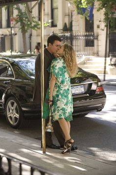 Still of Sarah Jessica Parker and Chris Noth in Sex and the City
