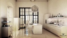 White Kitchen Squarcina Padova design