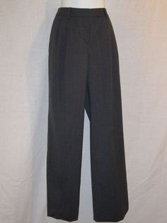 NEW WITH TAGS - Gray Lined Brooks Brothers pleated pants. Wool spandex blend, Original cost $119.99    28 inch waist.   31 inch inseam.