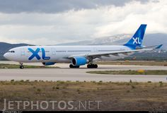 XLAirways Airbus A330-303 (registered F-HXLF) Holiday Flights, Chemical Weapon, Photo Online, Photographs, Photos, Camouflage, Aviation, Finance, Nerd