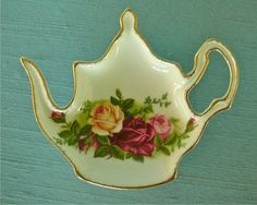 Tea Bag Holder by Royal Albert OLD COUNTRY ROSES