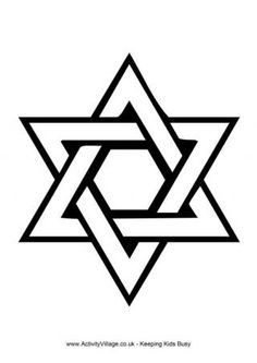 Just Coloring Pages: Star of david necklace coloring pages Amazing Coloring sheets - Jewish Crafts, Jewish Art, Star Of David Tattoo, Hilograma Ideas, Jewish Tattoo, Sailor Jerry Tattoo Flash, Coloring Book Pages, Coloring Sheets, Star Tattoos