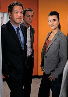 NCIS:Tony, McGee, Ziva.