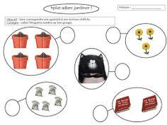 Le Livre de Sapienta: Splat adore jardiner ! Exploitation MS GS Splat Le Chat, Ms Gs, Place Card Holders, Album, Google Drive, Voici, Images, School, Good Handwriting
