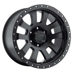Pro Comp Alloy Wheels Part 7036-8983 - Series 7036 - Flat Black Alloy Wheel