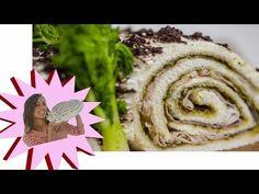 Tronchetto di Natale Salato - Antipasto di Natale - Le Ricette di Alice - YouTube