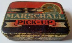 SCATOLA 70 PUNTINE MARSCHALL PICK UP GRAMMOFONO GRAMOPHONE NEEDLE TIN BOX NADELN