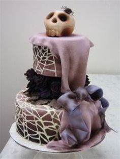 I so want this for either my B-day or if I ever decide to get married a wedding cake