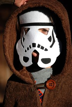 Stephanie Star wars Felt Mask set of 3 por MelissasStitches