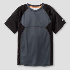 Boys' Printed Vent Tech T-Shirt - C9 Champion - Charcoal (Grey) XS, Boy's