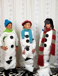 Planning kids' winter birthday parties - or just keeping the kids busy when the out-of-doors are out-of-bounds can be difficult. Here're a few ideas for keeping the kids active and