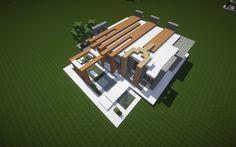 Braced – A Modern Minecraft House
