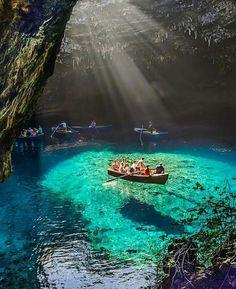 Melissani Cave - Greece