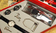 1999 Schuco Grand-Prix Set Studio 腕時計 外箱付き