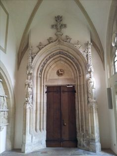 An entrance to the cathedral's church in Münster