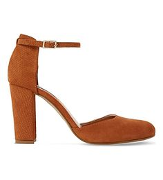 DUNE Cairo Suede Heeled Courts. #dune #shoes #heels