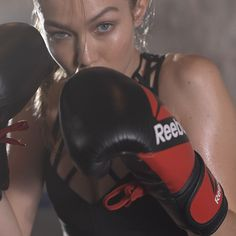 Gigi Hadid is the fierce new face for Reebok's #PerfectNever campaign. Not only does she look amazing in this campaign but she also empowers women to be strong, confident and embrace your imperfections.