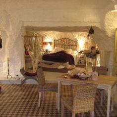 Dormir dans une grotte à Vouvray, troglodyte, atypique, chambre d'hôtes atypique, insolite