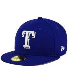 New Era Texas Rangers C-Dub Patch 59FIFTY Cap - Blue 7 1/4