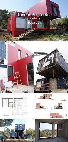 Very nice container house in Spain