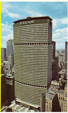 emery roth and sons, pan am building new york 1960