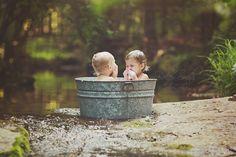 creek photo session - Bailey Smith Photography