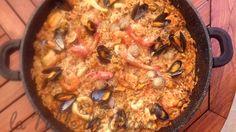 Arroz de marisco ou Riz à la portugaise