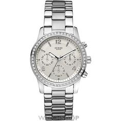 Ladies Guess Mini Spectrum Chronograph Watch W14537L1