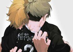 Haikyuu Fanart, Haikyuu Yaoi, Haikyuu Ships, Haikyuu Funny, Haikyuu Volleyball, Volleyball Anime, Manga Anime, Anime Art, Sketches
