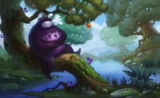 Ori and the blind forest by lepyoshka on DeviantArt
