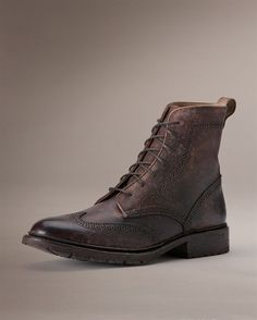 James Lug Wingtip Boot - View All - The Frye Company