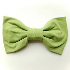 DIY Bow from a t-shirt. Great for accessories or packaging!