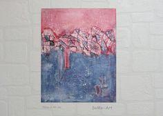 Acrylmalerei - Acrylbild auf Keilrahmen #088 - ein Designerstück von SoMa-Art…