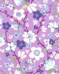 Ooh, purple flowers! Love