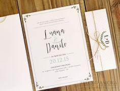 48 convites de casamento 2016: para todos os estilos! Image: 38