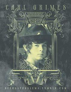 Carl Grimes portrait