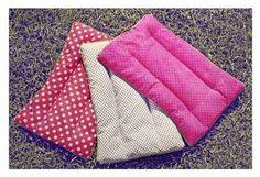 almohadas almohaditas terapeuticas de semillas tamaño grande