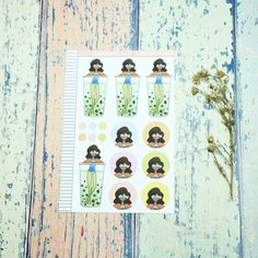 Bubble Bath Just Dollz Sticker Set Trending On Pinterest, Craft Business, Sell On Etsy, Planner Stickers, Paper Dolls, Fun Crafts, Free Printables, Etsy Seller, Best Gifts