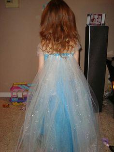 Elsa Frozen inspired tutu dress Frozen by LilCutieCreations