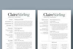 Simple Resume Template - Resumes - 2