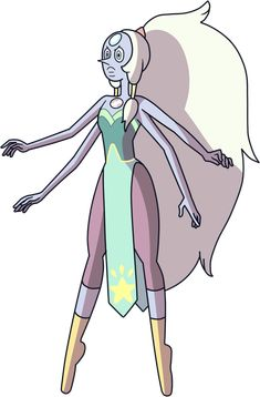 Pearl + Amethyst = Opal notice how they became Opal in The Return
