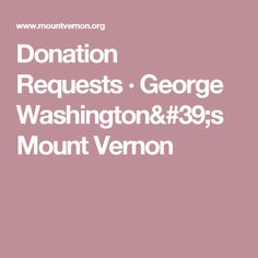 American greetings donation request pdf interview questions and donation requests george washingtons mount vernon m4hsunfo