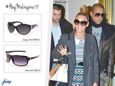 Gafas 'oversize' para él y para ella. Inspiración: Beyoncé y Jay-z.