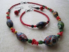 Vintage Italian Bead Set by BelarouciDesigns on Etsy, $60.00