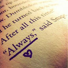 Potterhead always